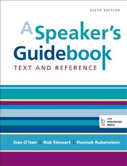 A Speakers Guidebook: Text and Reference 6 9781457663536