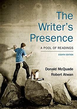 The Writers Presence: A Pool of Readings 8 9781457664465