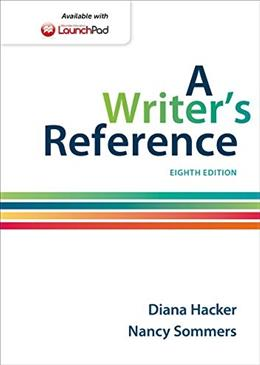 A Writers Reference 8 9781457666766