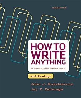 How to Write Anything with Readings: A Guide and Reference 3 9781457667039
