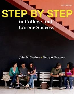 Step by Step: to College and Career Success 6 9781457672514