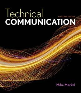 Technical Communication 11 9781457673375