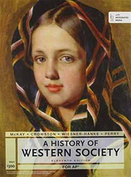 A History of Western Society Since 1300 for the AP® Course: with Bedford Integrated Media 11 PKG 9781457677106