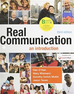 Loose-leaf Version for Real Communication: An Introduction 3 9781457685408