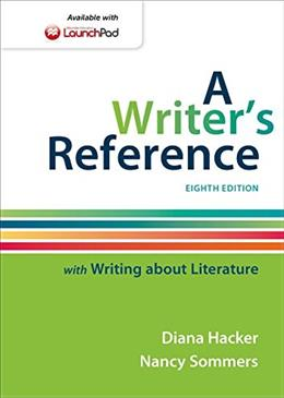 A Writers Reference with Writing about Literature 8 9781457686504