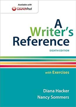A Writers Reference with Exercises 8 9781457686542