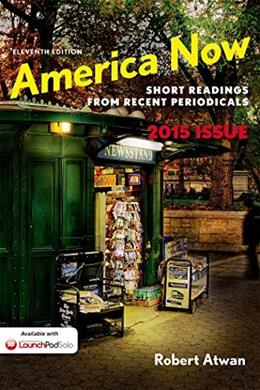 America Now: Short Readings from Recent Periodicals 11 9781457687426