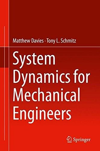 System Dynamics for Mechanical Engineers 9781461492924