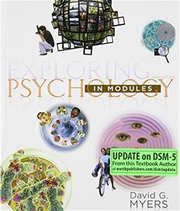 Exploring Psychology in Modules (Paper) 9 9781464111730