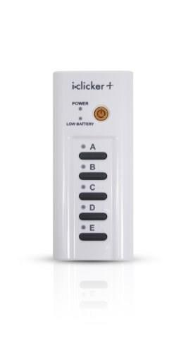 I-Clicker+ Student Remote, by iClicker, I-Clicker Only PKG 9781464120152