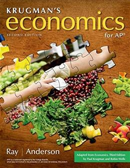 Economics, by Ray, 2nd AP Edition 9781464122187