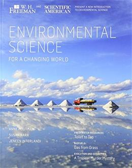 Environmental Science in a Changing World, by Houtman PKG 9781464123597