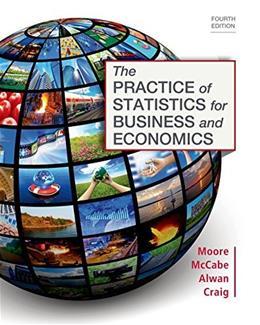 The Practice of Statistics for Business and Economics 4 PKG 9781464125645