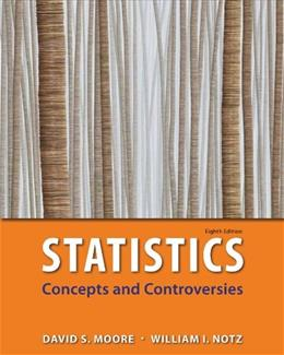 Statistics: Concepts & Controversies: w/EESEE Access Card 8 PKG 9781464125669