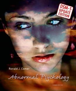 Abnormal Psychology--DSM-5 Update 8 9781464137198