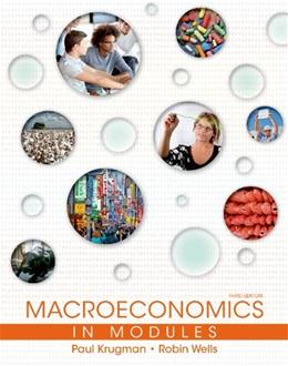 Macroeconomics in Modules 3 9781464139055