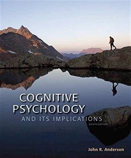 Cognitive Psychology and Its Implications 8 9781464148910