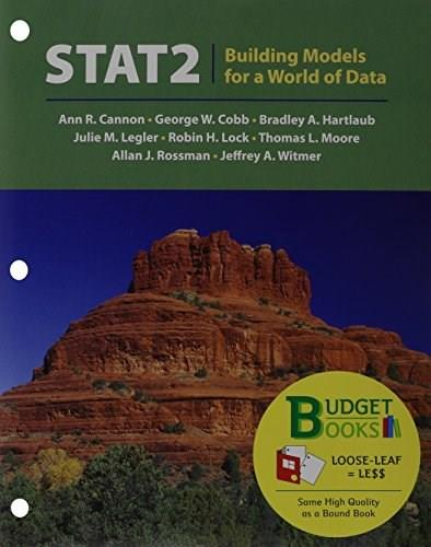 Stat2, by Cannon PKG 9781464150470