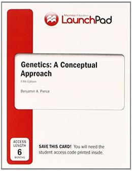LaunchPad for Pierces Genetics: A Conceptual Approach (6 month access) 9781464150906