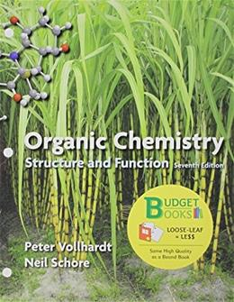 Organic Chemistry, by Volhardt, 7th Edition 9781464151514