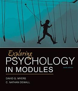 Exploring Psychology in Modules 10 9781464154386