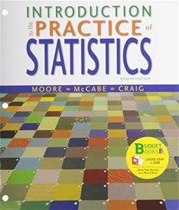 Introduction to the Practice of Statistics, by Moore, 8th Edition 8 PKG 9781464158971
