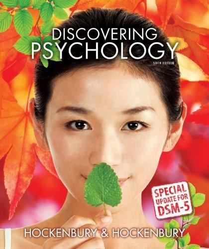 Discovering Psychology with DSM5 Update 6 9781464163494