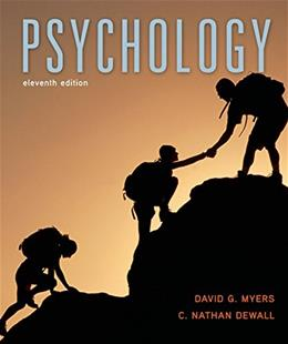 Psychology, by Myers, 11th AP Edition 9781464170447