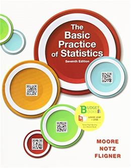 Basic Practice of Statistics, by Moore, 7th Edition 9781464179907