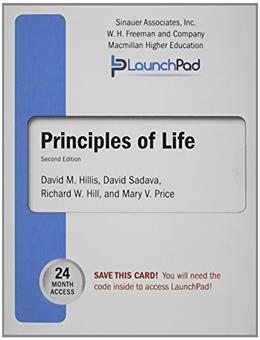 Principles of Life, by Hill, 2nd Edition, LaunchPad Twenty-Four Month Access Code Only 2 PKG 9781464184734
