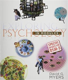 Exploring Psychology in Modules with DSM5 Update & LaunchPad 6 Month Access Card Ninth Edit 9781464189616