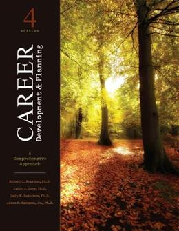 Career Development and Planning: A Comprehensive Approach 4 9781465200068