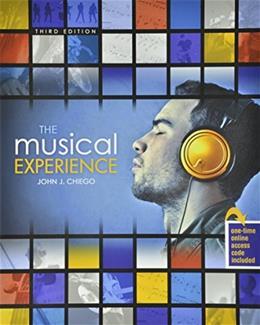The Musical Experience 3 9781465213822