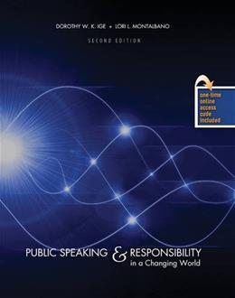 Public Speaking and Responsibility in a Changing World, by Ige, 2nd Edition 2 PKG 9781465231437