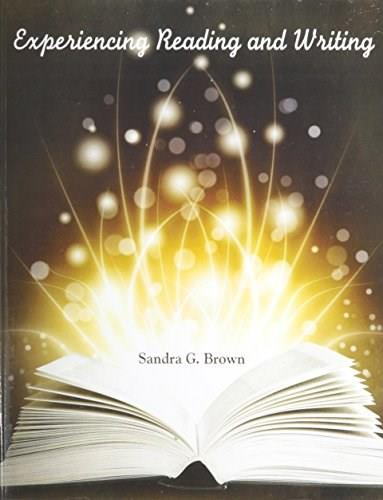 Experiencing Reading and Writing, by Brown 9781465237262