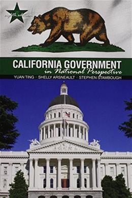 California Government in National Perspective 8 9781465267122