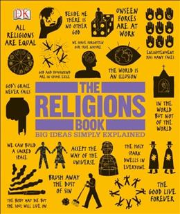 Religions Book, by DK Publishing 9781465408433