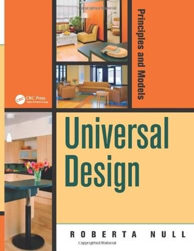 Universal Design: Principles and Models, by Null 9781466505292