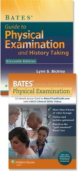 Bickley Bates Guide to Physical Examination Plus  Visual Guide Package 11 Har/Psc 9781469873343
