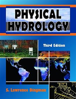 Physical Hydrology, by Dingman,3rd Edition 3 w/CD 9781478611189