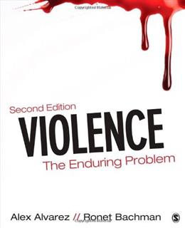 Violence: The Enduring Problem 2 9781483300306
