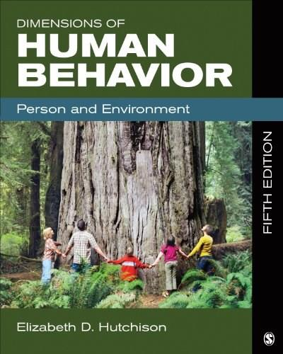 Dimensions of Human Behavior: Person and Environment 5 9781483303918