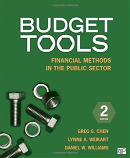 Budget Tools, by Chen, 2nd Edition 9781483307701