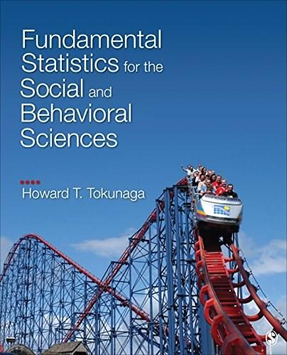 Fundamental Statistics for the Social and Behavioral Sciences, by Tokunaga 9781483318790