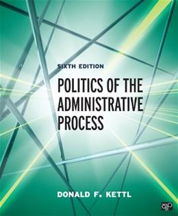 Politics of the Administrative Process 6 9781483332932