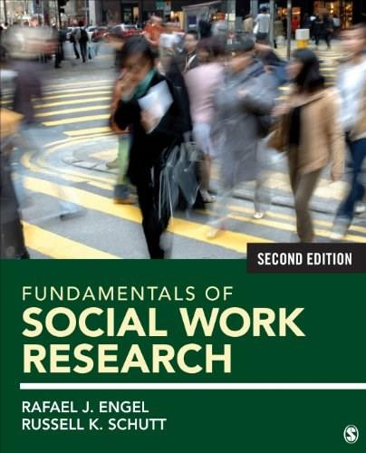 Fundamentals of Social Work Research, by Engel, 2nd Edition 9781483333441