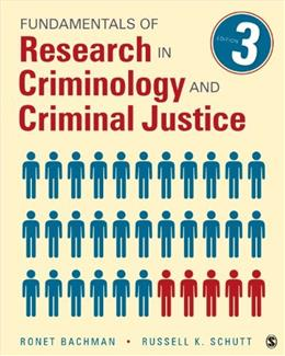 Fundamentals of Research in Criminology and Criminal Justice 3 9781483333458
