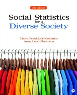 Social Statistics for a Diverse Society 7 9781483333540