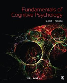 Fundamentals of Cognitive Psychology 3 9781483347585