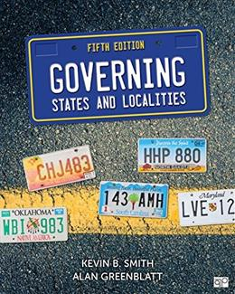 Governing States and Localities 5 9781483378039